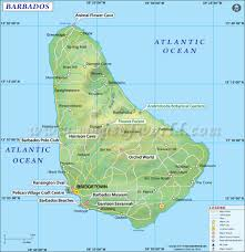 St Thomas Island Map Map Of Barbados