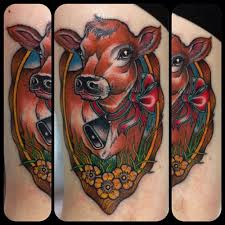 cow tatoo the best cow 2017