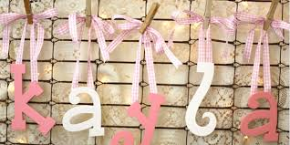 how to hang wood letters with ribbon craftcuts com
