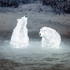 Polar Bear Christmas Ornaments For Sale by 5 Outdoor Christmas Decorations With Style Parentshaped