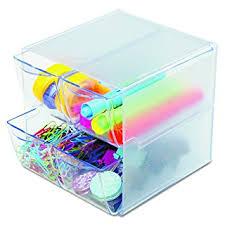 Stackable Desk Organizer Deflecto Stackable Cube Organizer Desk And Craft