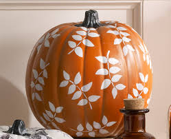 leaf pumpkin from martha stewart crafts project plaid online