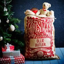 handmade christmas personalised christmas sacks handmade christmas co