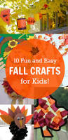 10 fun and easy fall crafts for kids love these ideas honey
