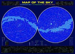 Map Of Constellations Amazon Com Eurographics Map Of The Sky 1000 Piece Puzzle Toys