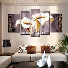 Calla Lily Home Decor by Popular Gray Canvas Buy Cheap Gray Canvas Lots From China Gray