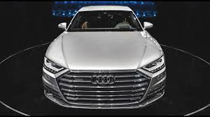etc audi premiere the 2018 audi a8 so much technology
