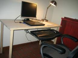 My Custom Computer Desk Custom Computer Desk by Computer Desk Build This Is A Gaming Computer Setup In The Corner