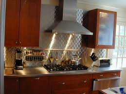 kitchens with stainless steel backsplash kitchen backsplash superb tin kitchen backsplash tiles kitchen