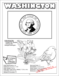 washington state coloring pages click the washington state tree