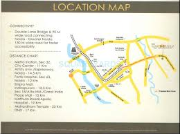 eros map eros soornam in noida ext sector 2 noida project overview