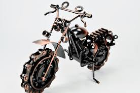 motorcycle home decor retro classic handmade metal motorcycle art office home décor