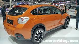 subaru xv interior 2016 subaru xv facelift subaru levorg 2015 thailand motor expo