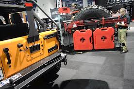jeep body armor bumper sema 2015 body armor 4x4 keeps your vehicle protected