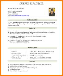 Good Resume Format Doc 7 Cv Format Doc For Freshers Appeal Leter