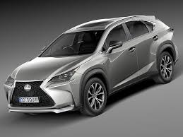lexus nx300h extras 3d model lexus nx 2015 at 3dexport com youtube