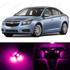 7 x pink purple led interior light package for 2011 2014