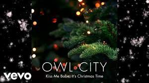 owl city kiss me it u0027s christmas time audio youtube