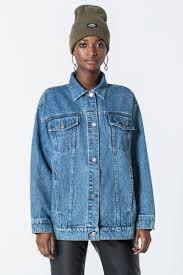 upsize denim jacket coats jackets cheapmonday
