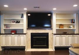 Fireplace Mantels With Bookcases Fireplace Surround Rockland County Ny Rylex Custom Cabinetry