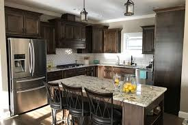 pictures of wood stained kitchen cabinets walnut stained kitchen cabinets layjao