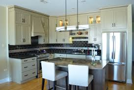 recycled countertops semi custom kitchen cabinets lighting