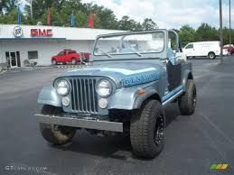 jeep 1982 1982 slate blue metallic jeep cj7 renegade 4x4 32846674 photo 3
