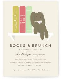 baby brunch invitations baby shower invitation collections minted