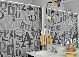 Grey And Yellow Shower Curtains Wonderful Grey And Yellow Shower Curtains Decorating With Shes