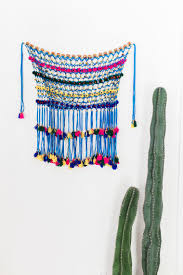 home decor create a boho home with tassels and pom poms from