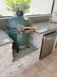 the big green egg outdoor kitchen elegant outdoor kitchens
