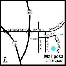 the lakes mariposa new home community menifee inland empire