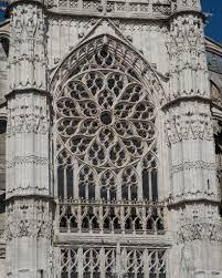 beavais cathedral south facade rose window 16c facades and
