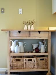 Kitchen Island With Garbage Bin Kitchen Carts Kitchen Island Small Table Natural Wood Rolling