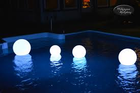 solar led light for globes fireplace lighted indoor outdoor floating led pool globes