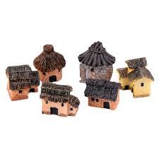 1pc diy resin crafts house fairy garden miniature craft micro