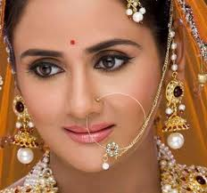 nose jewelry rings images Indian nose rings fashion zone indian bridal nose ring nath jpg