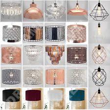 Beaded Pendant Light Shade Beaded Lampshade Ebay