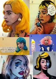 Pop Art Halloween Costume 17 Pop Art Images Makeup Costume Ideas
