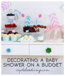 tips for decorating a baby shower crystalandcomp com