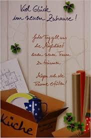 spr che zum einzug ins neue heim glückwunschkarte karte inkl umschlag umzug neues heim neues
