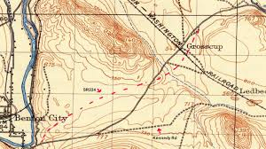 Richland Washington Map by The Historic Sunset Highway