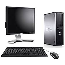 dell ordinateur de bureau dell optiplex 780 desktop ecran 17 ordinateur de bureau gris