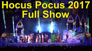 scary halloween sign 2017 hocus pocus villain spelltacular full show at mickey u0027s not so