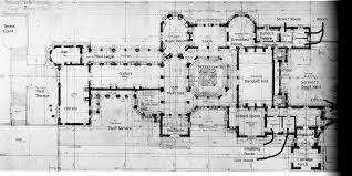 house plans north carolina biltmore ground floor plan with details the gilded age