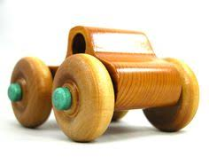 handmade wooden toy truck tow truck from the quick n easy 5 truck
