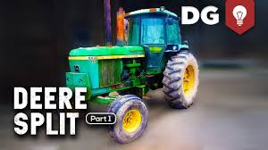 how to split a john deere tractor 4430 part 1 youtube