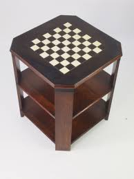 art deco chess top coffee table 322654 sellingantiques co uk