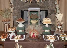amanda s to go rustic thanksgiving dessert table