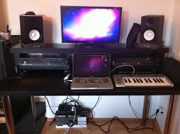 Creation Station Desk How To Create A Professional Dj Booth From Ikea Parts Dj Techtools